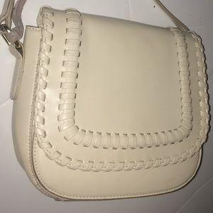 Lionel cream  purse
